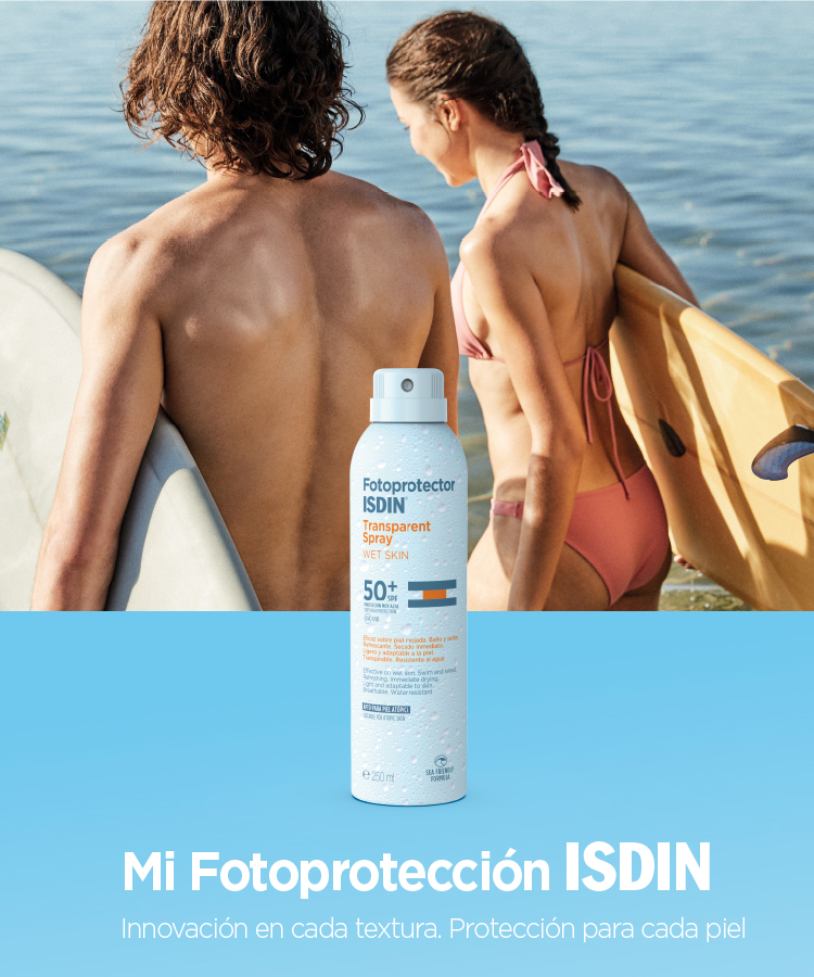 Fotoprotector ISDIN Transparent Spray  Transparent Spray WET SKIN