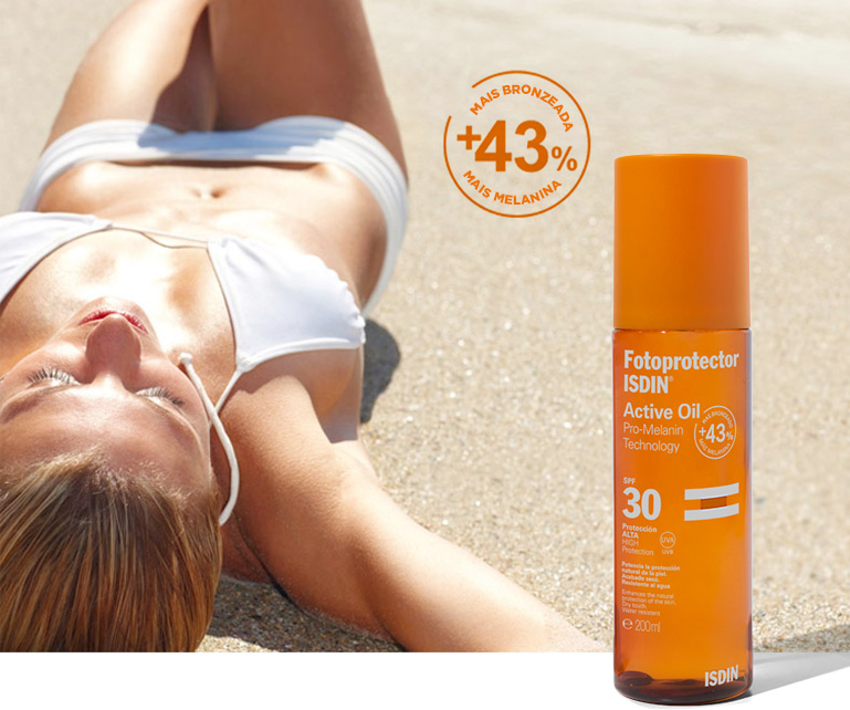 Fotoprotector ISDIN Active Oil
