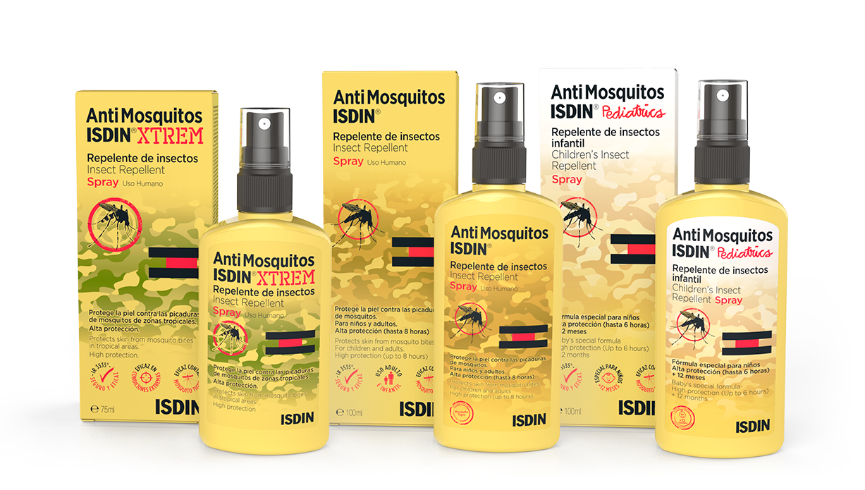 Protect your skin against mosquito bites - ISDIN