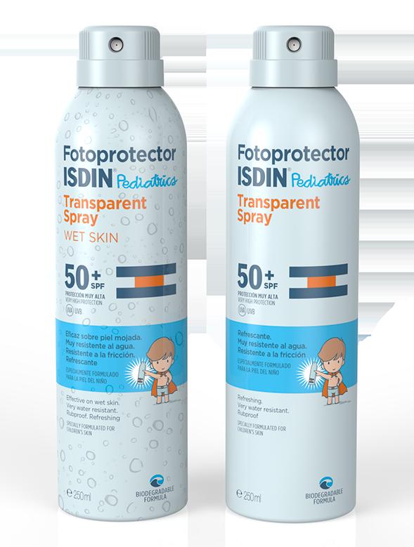 Fotoprotector ISDIN Pediatrics Fusion Fluid y Lotion Spray