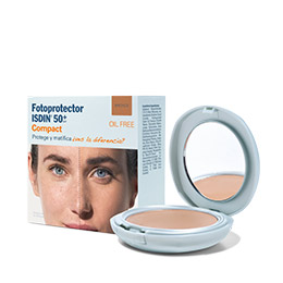 Fotoprotector ISDIN Compact SPF 50+ (Arena y Bronce)