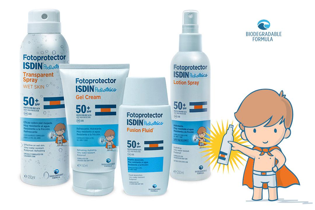 Fotoprotector ISDIN Pediatrics para la piel de niños y bebés