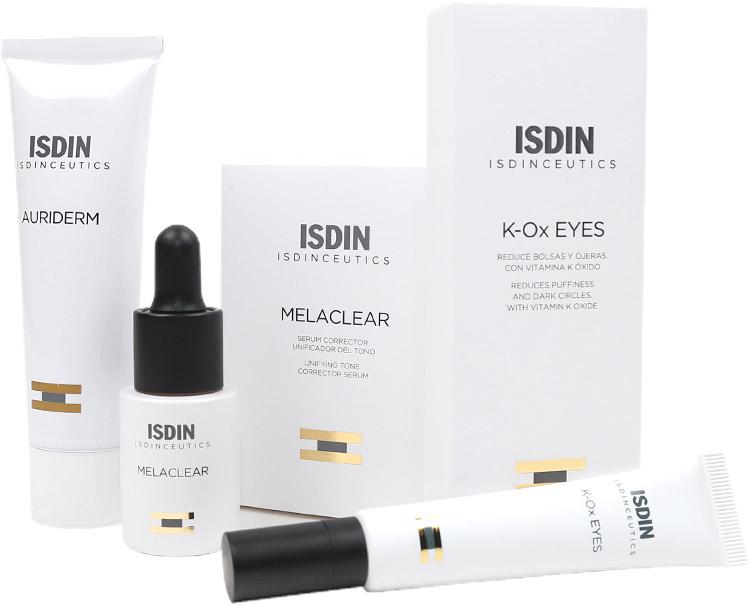 Isdinceutics Melaclear, K-Ox Eyes, Auriderm: Specific
