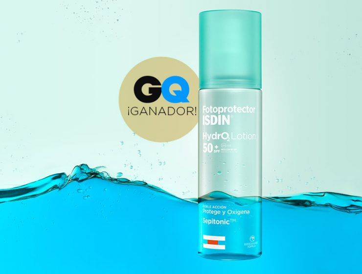 isdin premio GQ al mejor fotoprotector hydrolotion