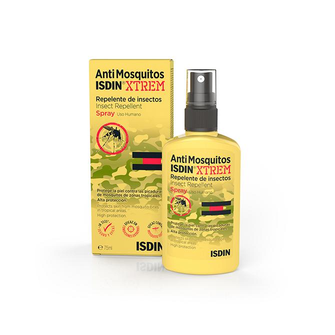 Como evitar picaduras de mosquito AntiMosquitos ISDIN Xtrem