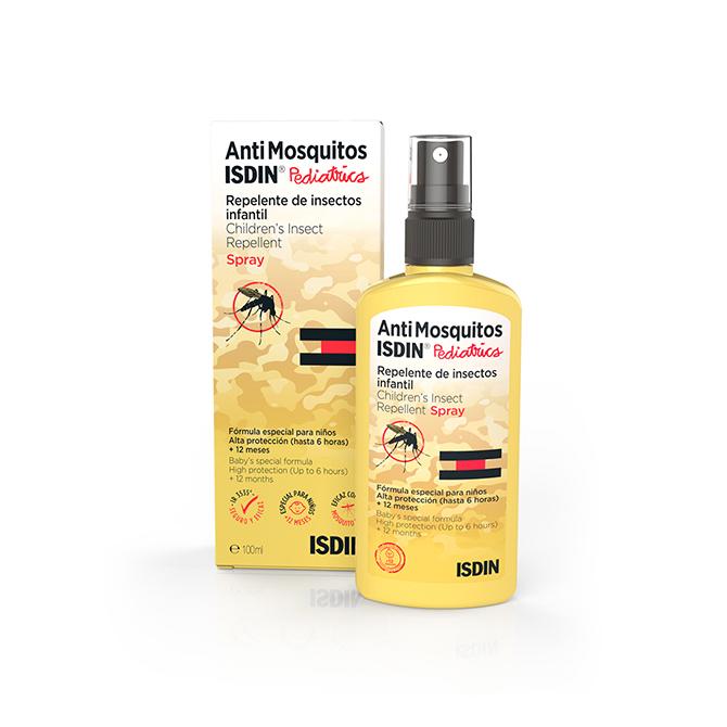 Como evitar picaduras de mosquito AntiMosquitos ISDIN Pediatrics