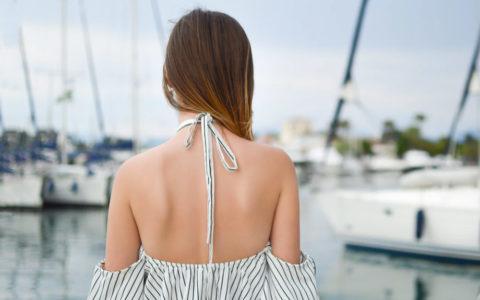 eliminar acne en la espalda