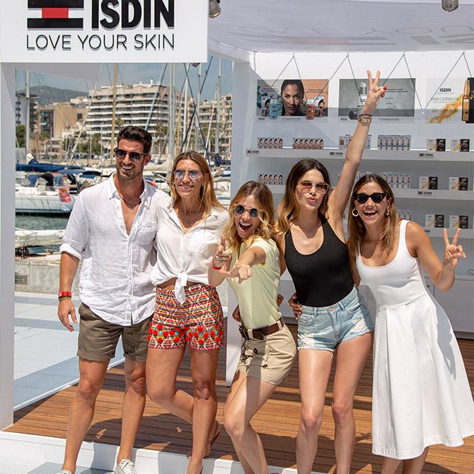ISDIN, fotoprotector oficial de la Copa del Rey MAPFRE de vela embajadores