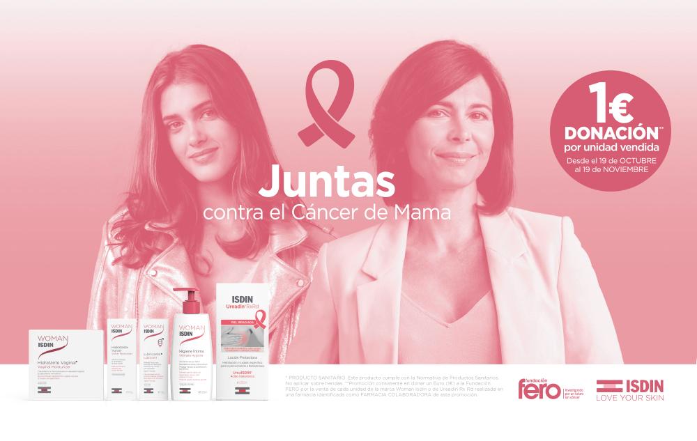 """ISDIN lanza la campaña """"Juntas contra el Cáncer de Mama"""