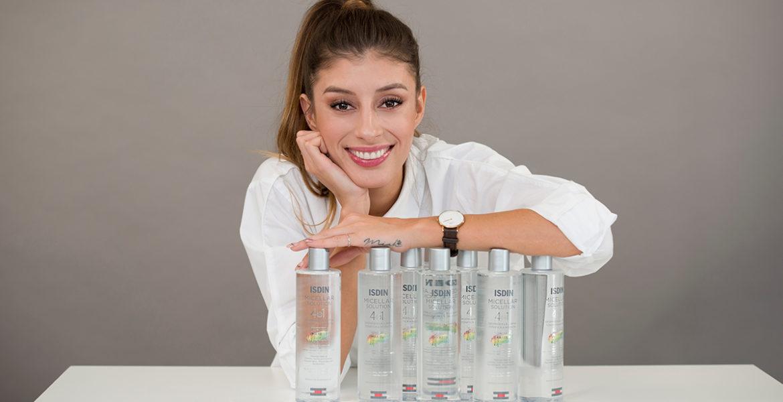 curso de maquillaje ISDIN Ika Sanchez