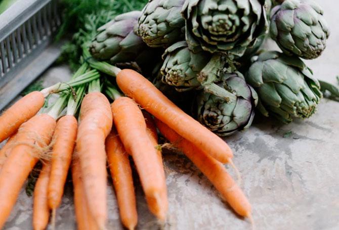 Alimentos ricos en carotenoides