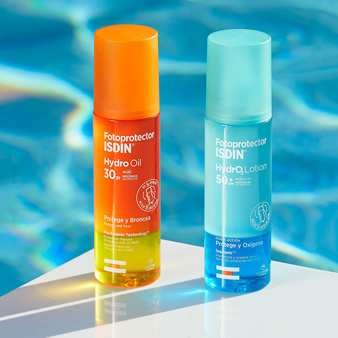 Protección solar para la piscina