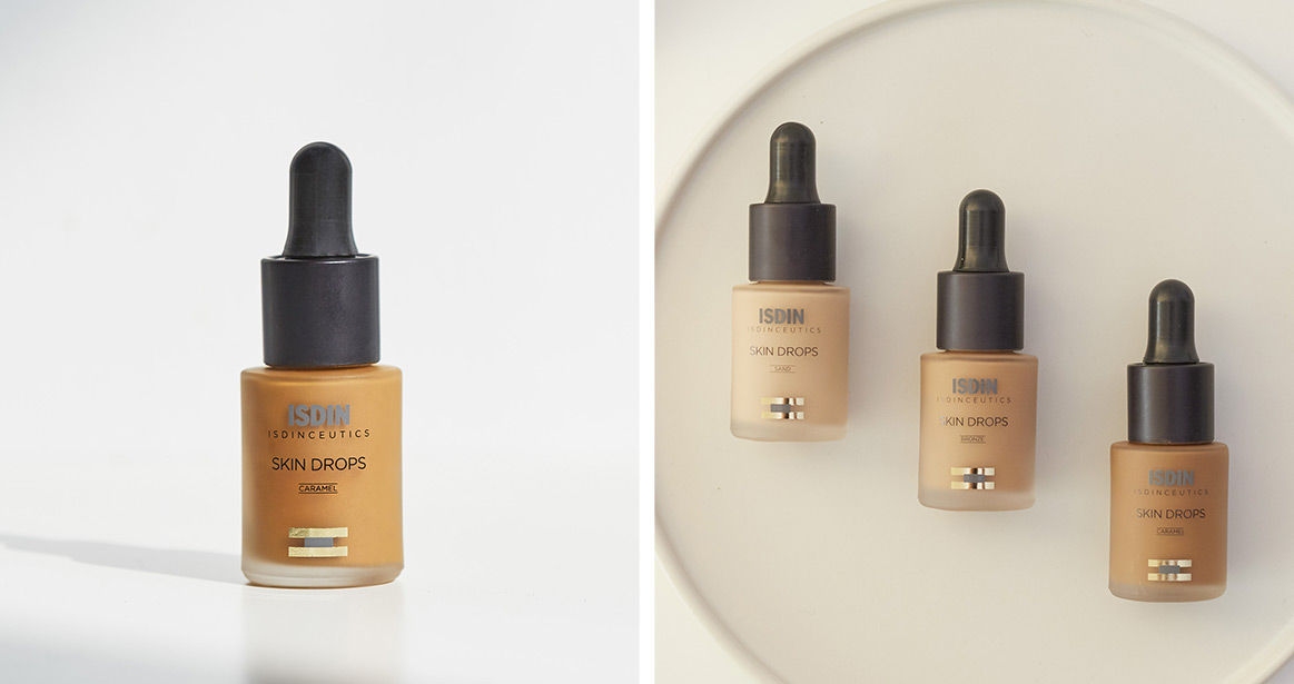ISDINCEUTICS Skin Drops Caramel ingredients
