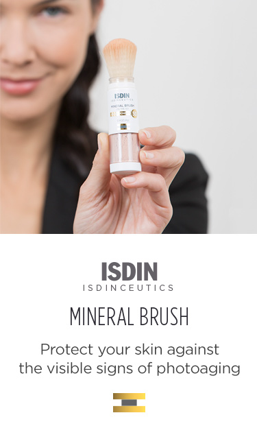 ISDINCEUTICS MINERAL BRUSH On-the-go photoaging protection
