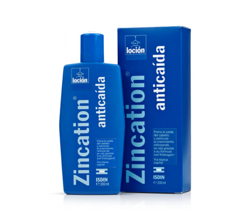 Zincation anti-hair loss