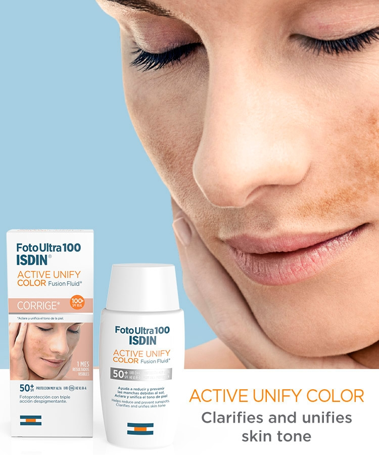 protector solar isdin active unify color